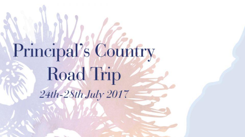 Principal's Country Road Trip