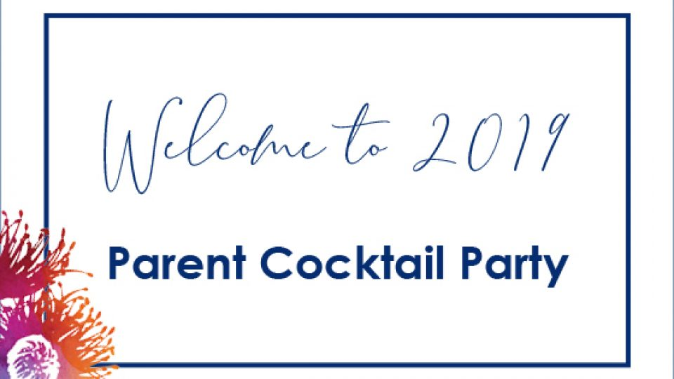 Welcome to 2019 Cocktail Party
