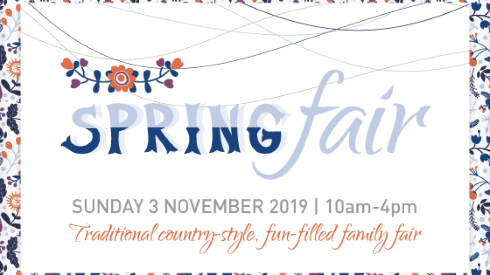 Spring Fair – only 10 days away!