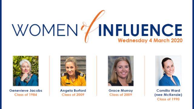 Women of Influence Evening 2020