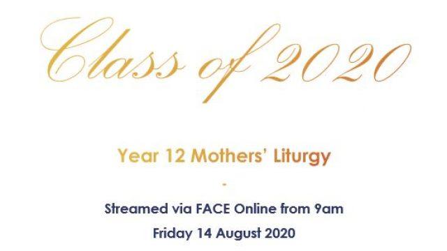 Year 12 Mothers' Liturgy