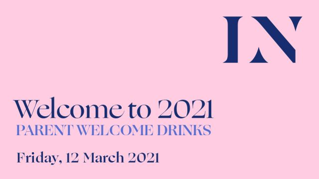 Welcome to 2021 Parent Drinks