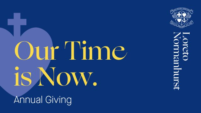 'Our Time is Now' – Annual Giving 2021